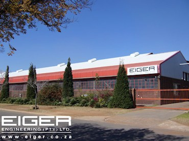 Eiger Engineering is situated in Alberton, Gauteng but can supply their laser cutting as well as their flour & milling products and services anywhere in South Africa or Africa